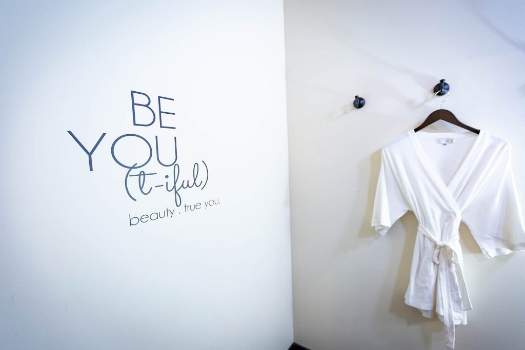 About us Le Boudoir fitting room